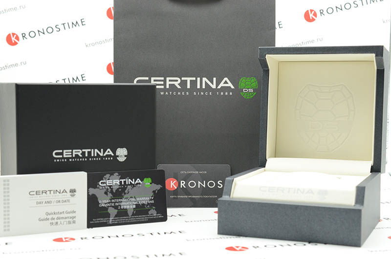 Часы Certina DS First C014.417.16.051.00